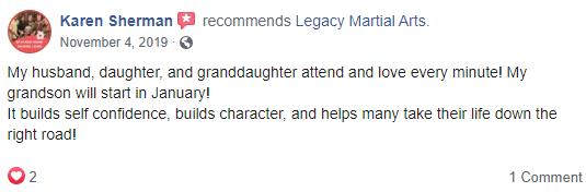 Kids1, Legacy Martial Arts  Quincy, IL
