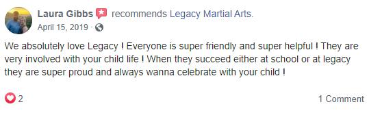 Kids2, Legacy Martial Arts  Quincy, IL